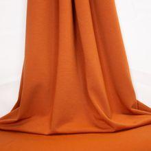 Oranje Sweater met Geruwde Achterkant
