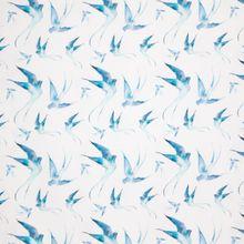 Witte Tricot met Blauwe Vogels