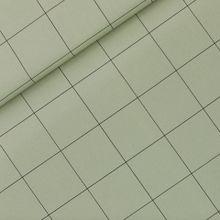 Tea Green Canvas twill 'Thin Grid XL' van See You At Six Herfst '21
