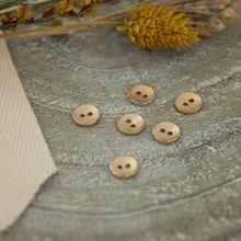 Gestructureerde Knoopjes 10 mm in goud van See You at Six