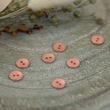 Gestructureerde Knoopjes 10 mm in rosé van See You at Six