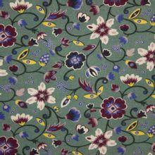 Warme tricot met kleurrijke bloem