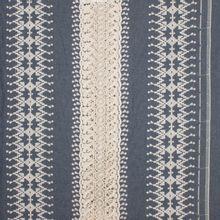 Katoen jeans geborduurd crochet