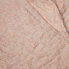 Jacquard double face roze rosé goud