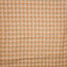 Oranje Kaki Chanelstof
