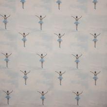 Katoentricot ballerina in de wolken