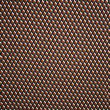 Crepe met geometrisch patroon (retro)