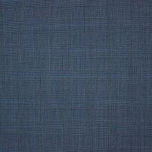 Blauwe wol met prince de galles print