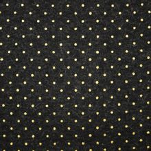 breitje in donkergrijs met gouden stippen