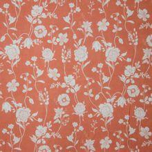 Bloemenstof in zalmkleur van La Maison Victor