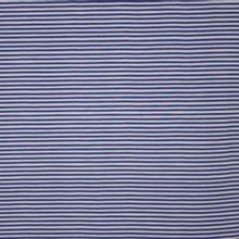 Grijs en blauw gestreepte tricot