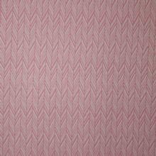 Roze jacquard tricot met wit streepjes motief