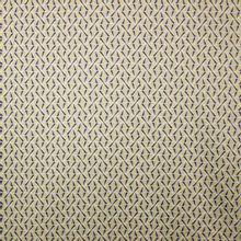 Polyester stof met abstract motief in grijs, wit en geel