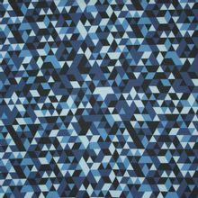 Softshell met geometrische motieven van 'Poppy'