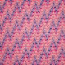 Jacquard in katoen - polyester mengeling met abstract motief