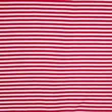 Rood en wit gestreepte tricot