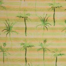 Katoen met palmboommotief