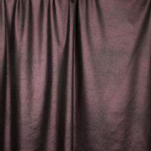 Antraciet rekbaar imitiatieleder met rosé glans van 'Fibre Mood'