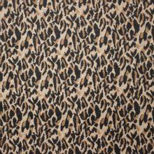 Polyester - wolmengeling met pantervlekken van 'Fibre Mood'