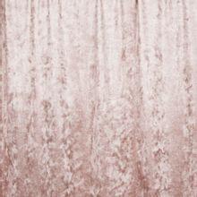 Lichtroze velours tricot met zilveren glitter