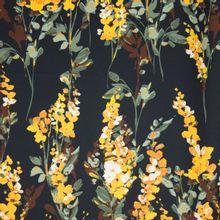 Polyester met bloemen
