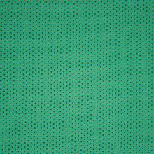 Groene tricot met blaadjes en hartjes 'Sweat Leaves' van 'Poppy'