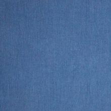 Chambrai tencel donkerblauw jeanslook