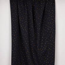 Donkerblauwe sweater met gouden glitterstreepjes van Attelier Brunette