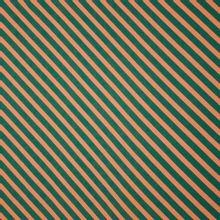 Viscose met diagonale strepen 'Grassland Dia' van About Blue Fabrics