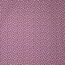 Tricot roze hartjes motief