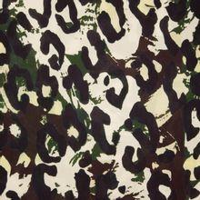 Camouflage print viscose La Maison Victor