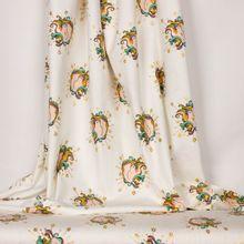 Witte tricot met eenhoorns