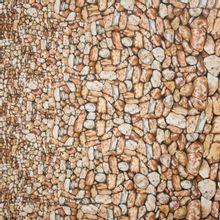 Landschap quilt met keien wand