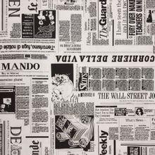 Katoen met kranten