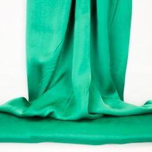 Groene viscose satijn