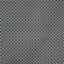 Witte katoen stretch met zwart motief