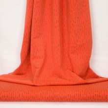 Oranje french terry funky stripes van Poppy