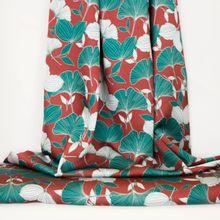 Roeste polyester met planten van La Maison Victor