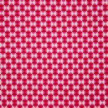 Roze katoen met vliegenmotief