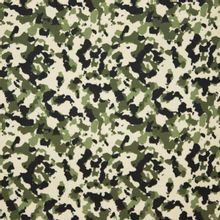 Groene camouflage viscose
