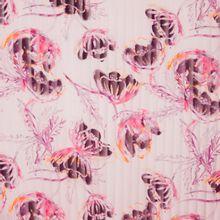 Gestreepte dunne doorschijnende polyester van Milliblu's