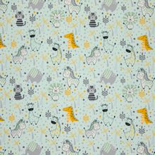 Munt tricot met zoodieren