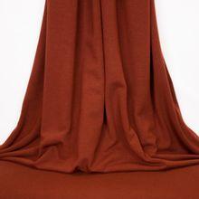Bruine polyester viscose tricot van Fibre Mood