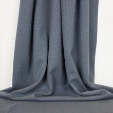 Gemeleerde nylon katoen tricot blauw