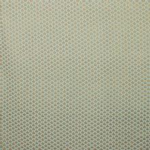 Munt polyester met gouden bladmotief