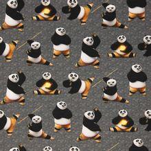 Grijze french terry Kung Fu Panda