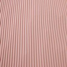 Roze fijne plissé in polyester
