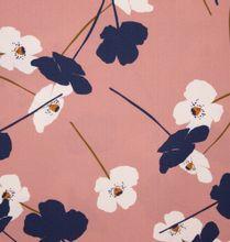 Roze Viscose met Bloemen van Atelier Jupe
