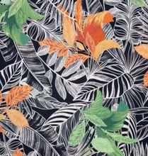 Donkere Viscose met Bladeren van Atelier Jupe
