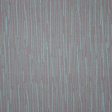 Grijze modal tricot met turquoise strepen van 'Lillestoff'